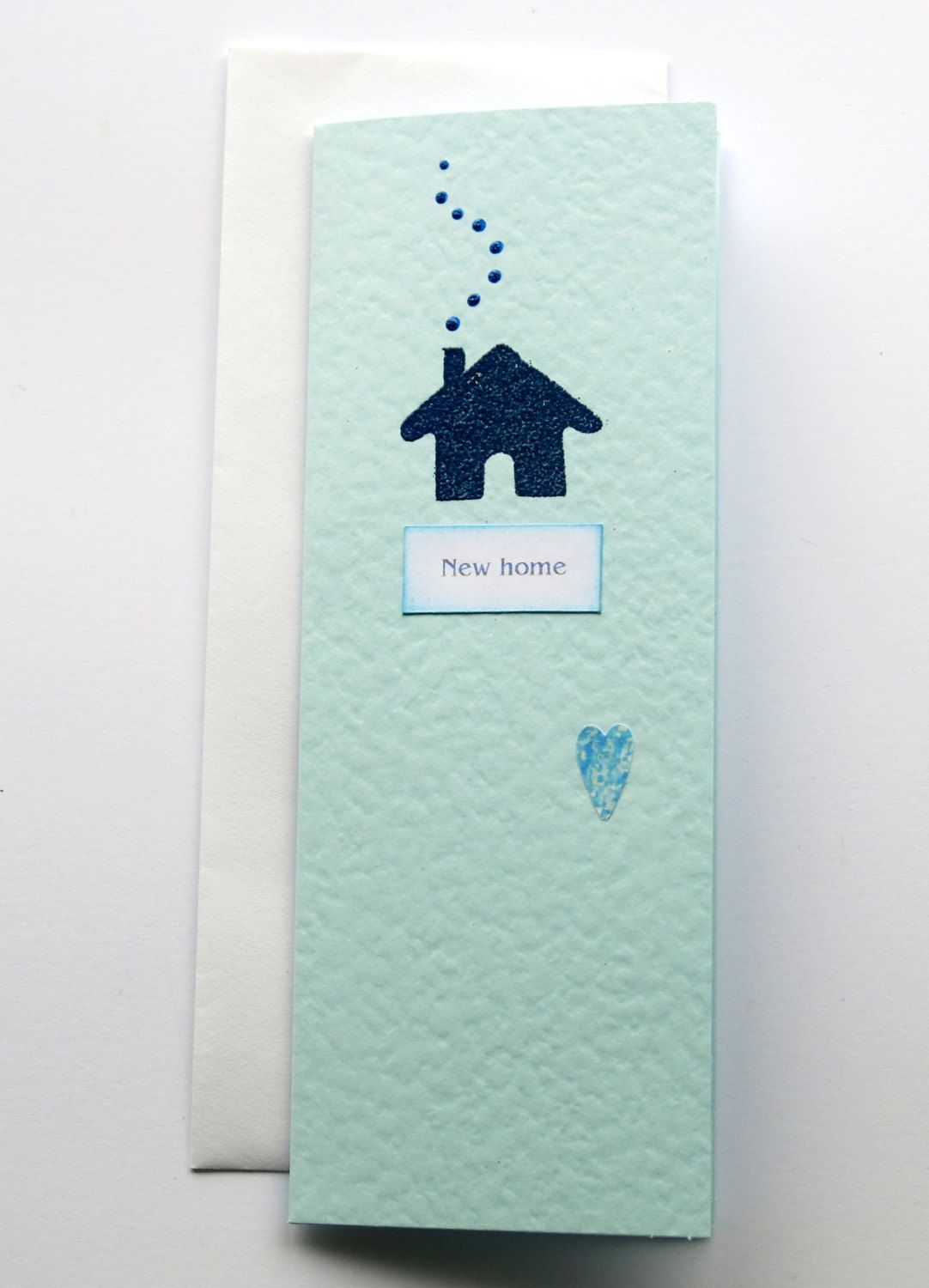New Home Card Blank Card New House Card Hand Crafted