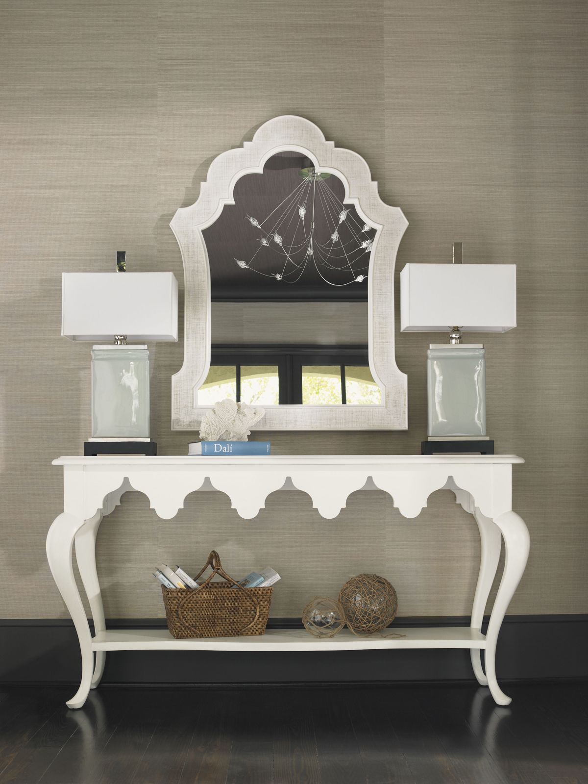 Ivory Key Gunners Reef Console Table | Lexington Home Brands