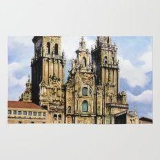 Catedral de Santiago de Compostela/Santiago de Compostela Cathedral Rug
