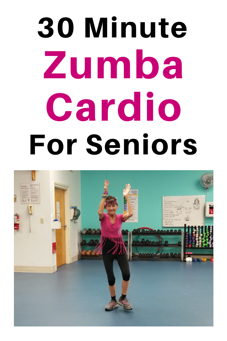 Zumba Cardio Workout For Seniors - Fitness With Cindy