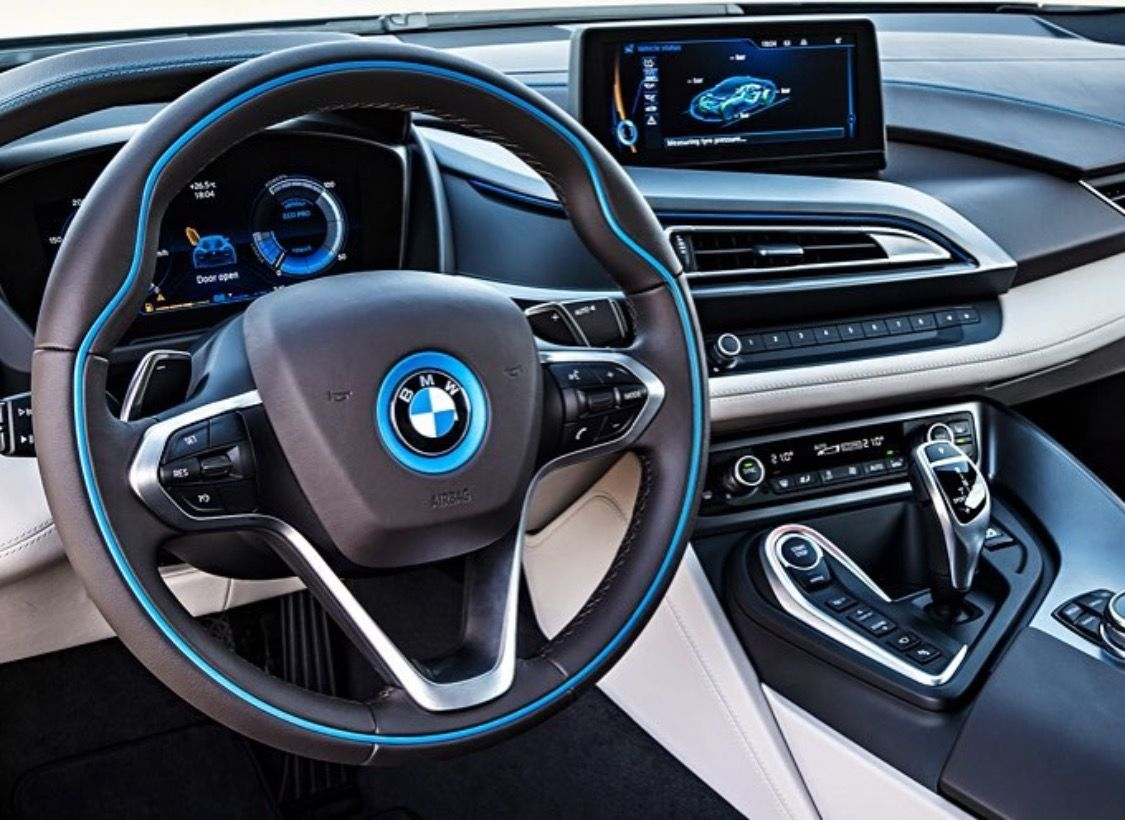 Bmw I8 Interior Luxury Cars Bmw I8 Bmw Bmw Classic Cars