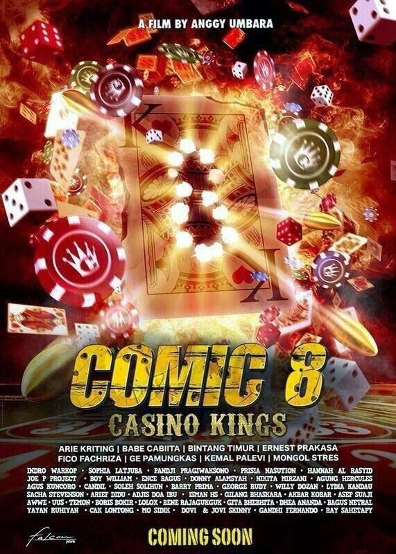 Film Combat Syndicate Yayan Ruhian Sports A Ghastly Image On The Set Of Comic 8 Casino Kings Comic 8 Trailer Film Download Movies