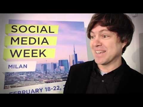 Nuovi modelli di business sul web, innovative piattaforme per fornitori di contenuti e tanto altro: ne abbiamo parlato alla Social Media Week Milan con Antonio Pavolini, Business Analyst, Social Media Telecom Italia.