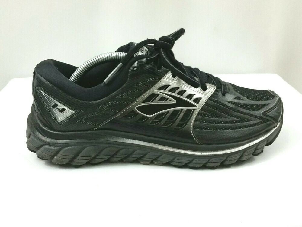 48bcbfc025734 Brooks Glycerin 14 Womens Running Shoes Sneakers Black and Silver Size 8.5   Brooks  RunningShoes