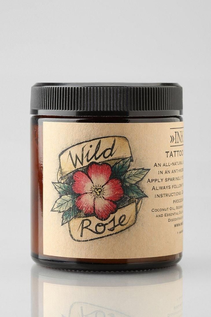 Wild Rose Ink Balm Tattoo Ointment The balm, Best tattoo