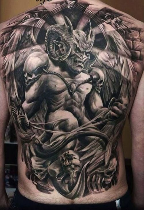 Bob Tyrrell Horror Tattoos Google Search Tattoos Demon Tattoo