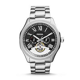 ME3046P - Foreman Multifunction Automatic Stainless Steel Watch