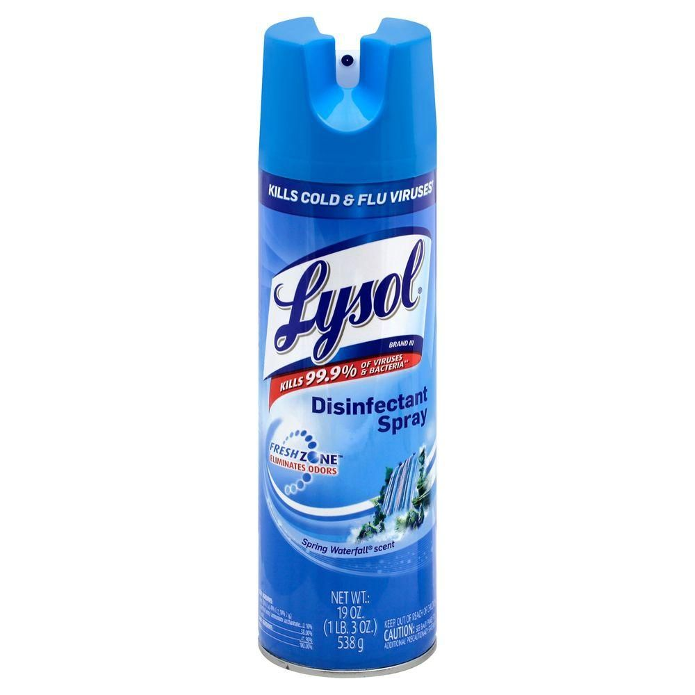19 oz. Spring Waterfall Disinfectant Spray (12-Pack)