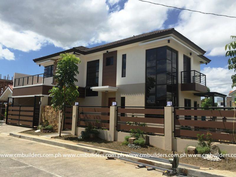 Modern Zen Cm Builders Philippines House Design Village House