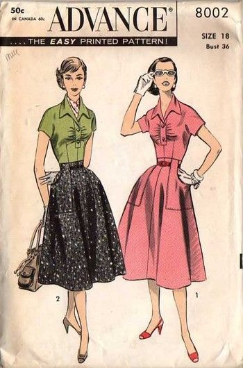 1000  images about Sewing Pattern Illustration on Pinterest ...
