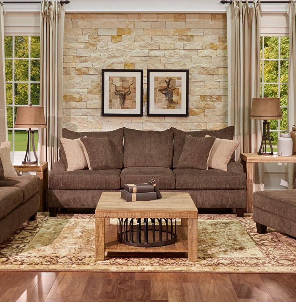 The Woodlands Sofa From Gallery Furniture Features Ultra Comfortable Chenille Fabric Plush Cushions And A Laid Back Vibe That Will Revolutionize The Way You Sp