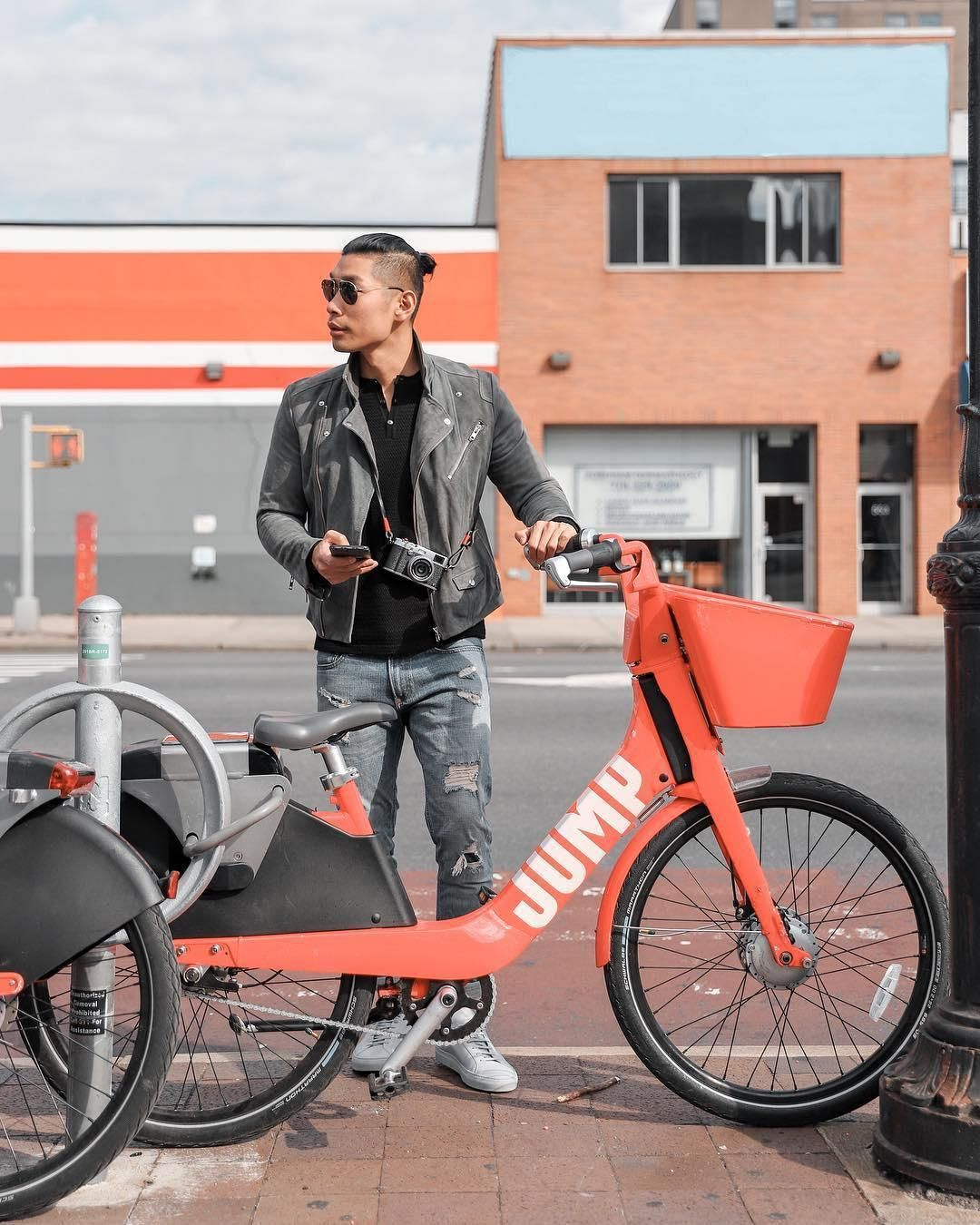 I partnered with @Uber to ride on their JUMP bikes and