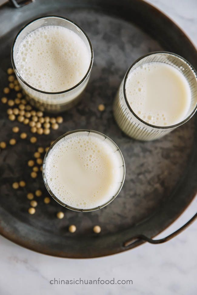 how to make soya milk in home