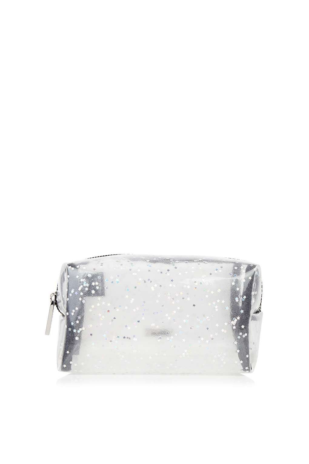 b7fd77e9b4a8 Clear Star Glitter Make Up Bag by Skinnydip - New In- Topshop ...