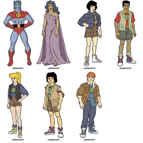 Yeah Flashback Captain Planet Characters Captain Planet Costume Classic Cartoons