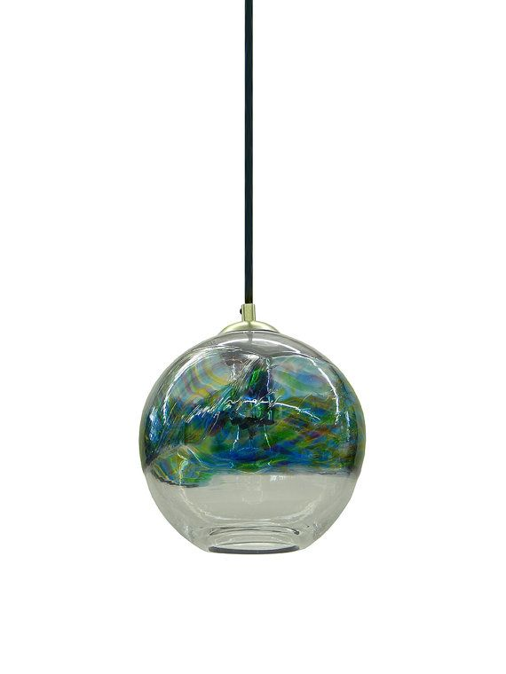 In stock ocean banded hand blown glass pendant light chandelier on sale in stock ocean banded hand blown glass pendant light chandelier hanging lights normally aloadofball Images