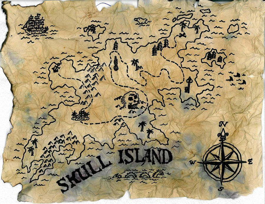 карта острова сокровищ картинки результате оператор