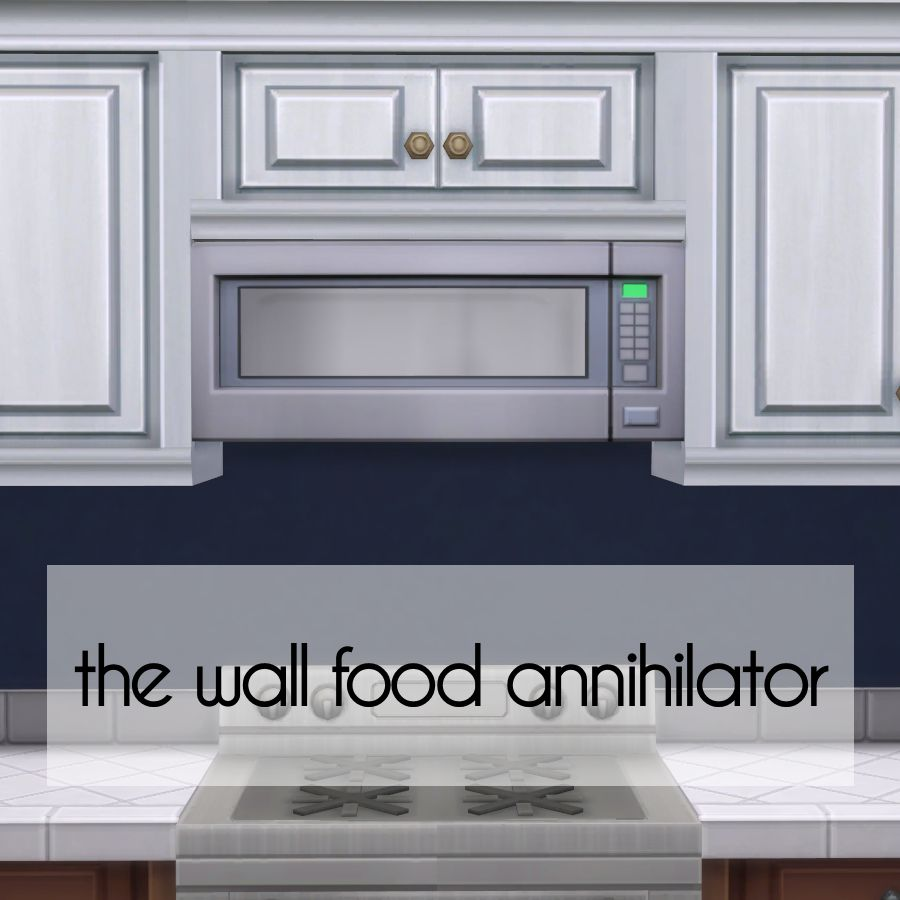 Functional wall microwaves!