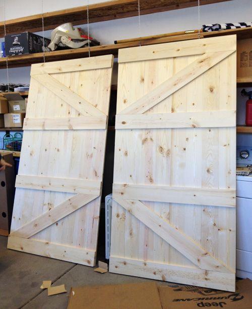 Building Barn Doors little yellow barn: diy barn door headboard | diy & projects