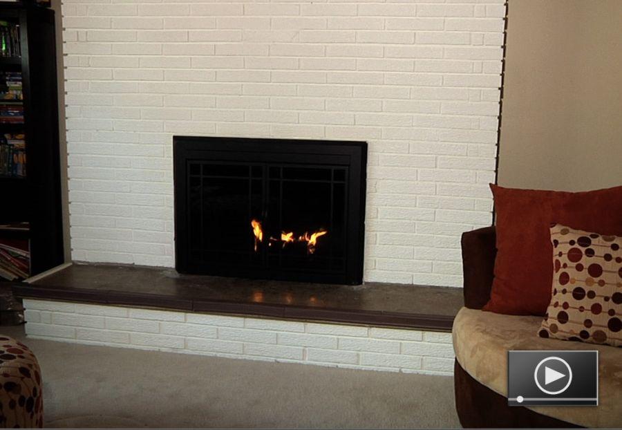 How To Paint A Masonry Fireplace Masonry Fireplace Fireplace