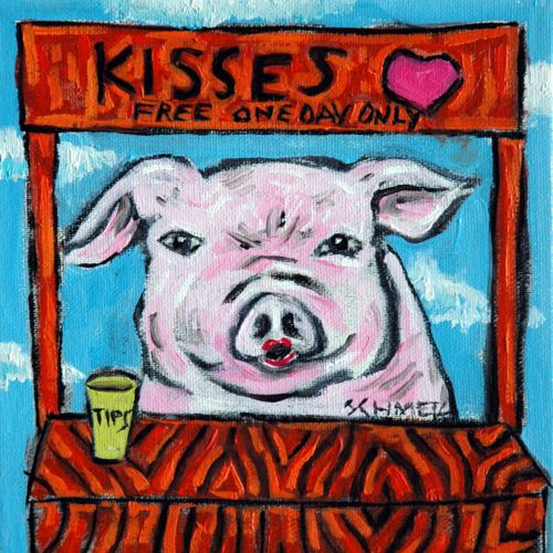 pig mom gift ceramic coaster i kitchen decor pig coasters pig art