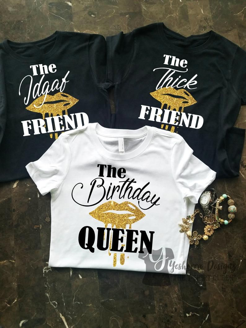 Birthday Group Shirts, Birthday Party Shirts, The Friend