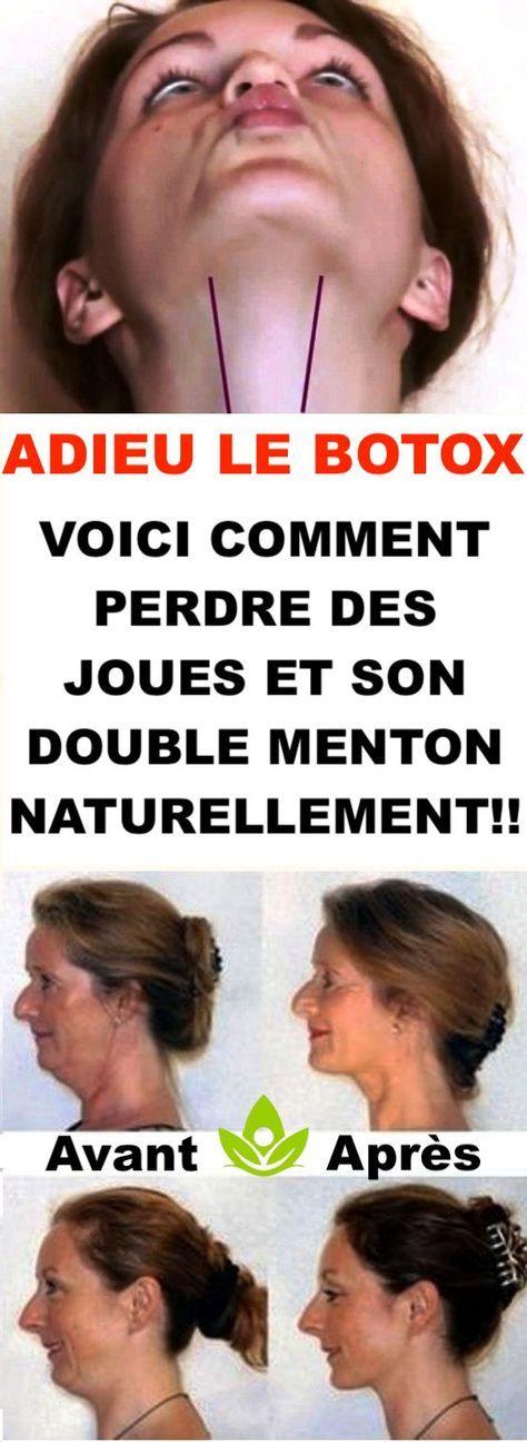 ADIEU LE BOTOX : VOICI COMMENT PERDRE DES JOUES ET SON ...