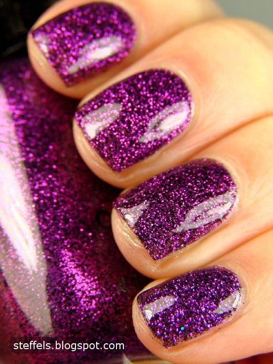 Milani Purple Gleam Dark purple or black jelly base with fuschia ...