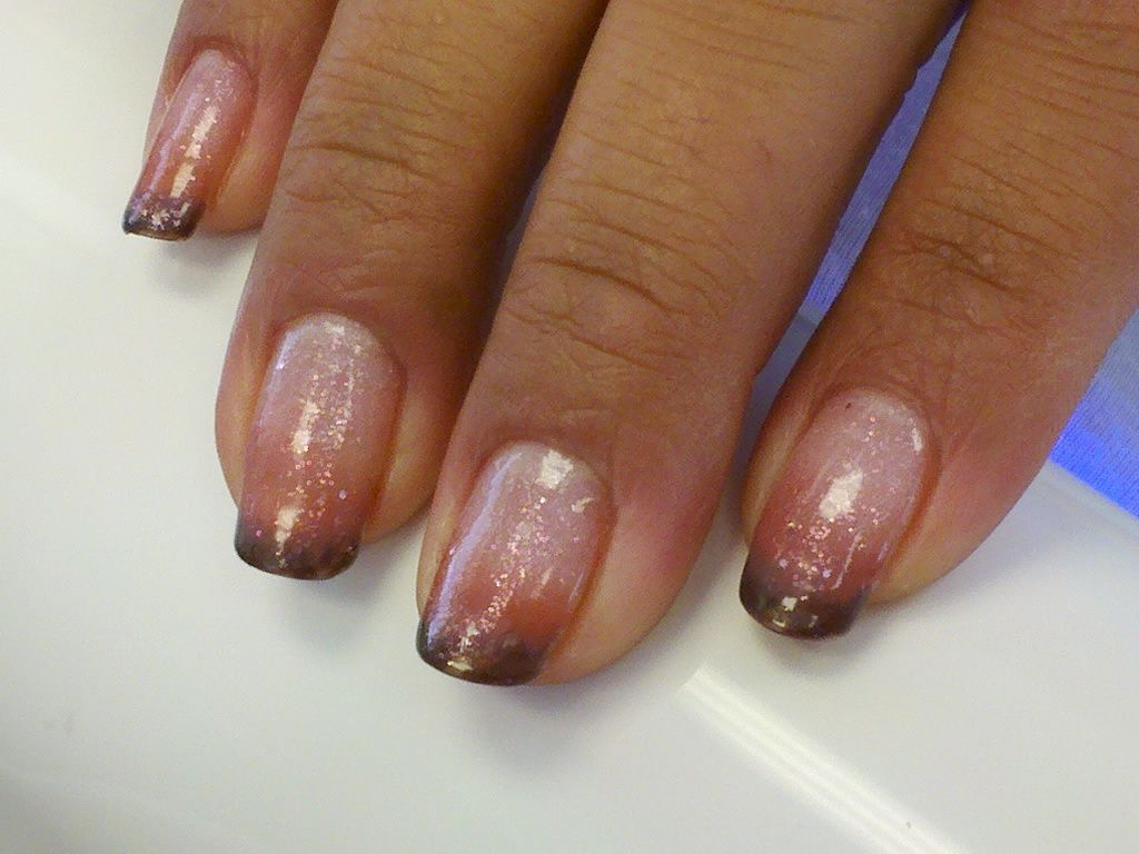 French Tip colors with Fall Colors | Nail Art Designs (TRIED ...
