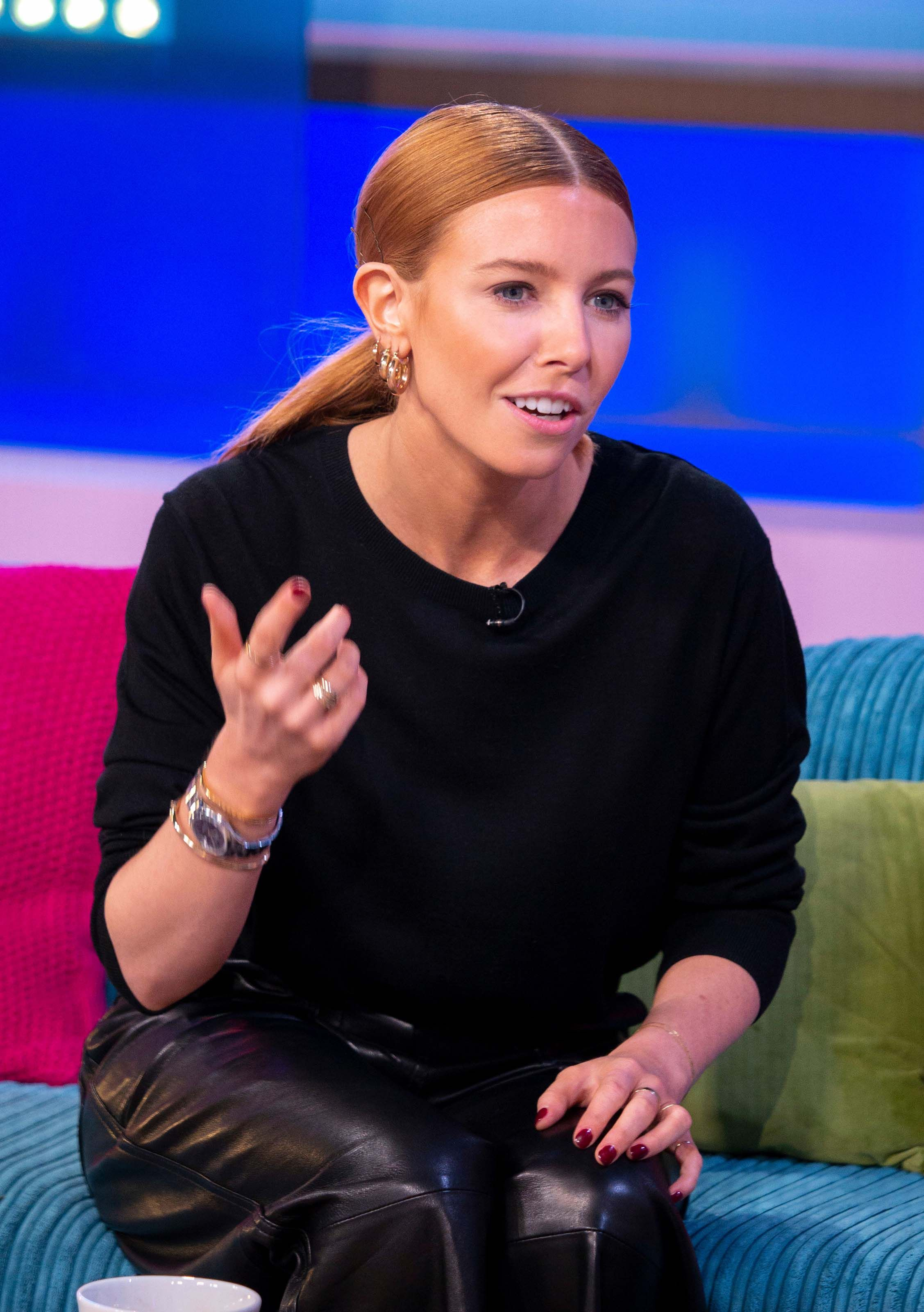 Stacey Dooley Seen At Sunday Brunch Tv Show Tv Shows Stacy Dooley Stacey