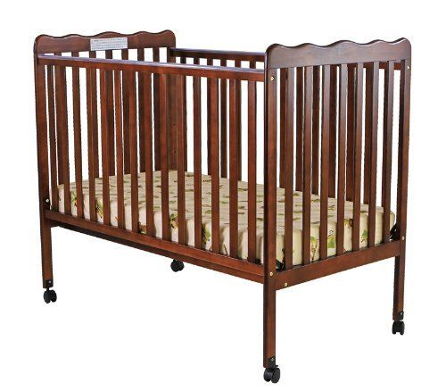 Dream On Me Classic 2 In 1 Convertible Stationary Side Crib Espresso By Dream On Me 99 00 From The Manufacturer Cribs Best Baby Cribs Baby Cribs