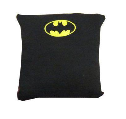 Batman Dark Knight Rises recycled t-shirt throw pillow $25