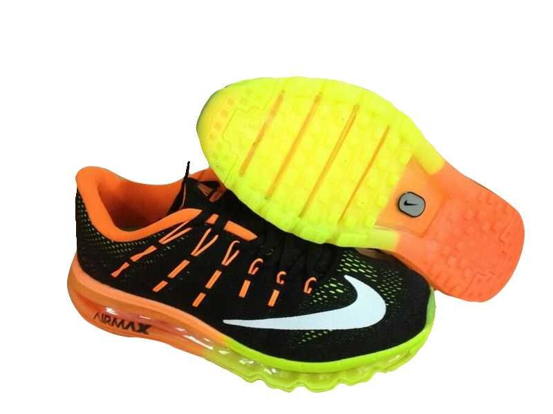 detailed look df8b9 f4285 ... 1830 nike air max 2016 herr svart gul orange vit se906551bmtzfhzfj