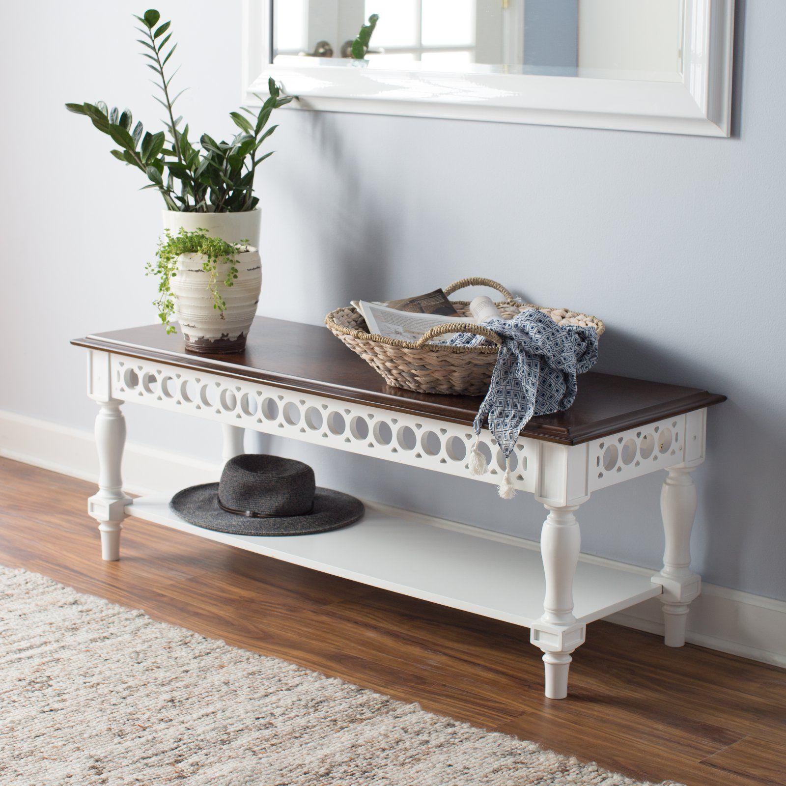Belham Living Jocelyn Bench Living Room Bench Simple Living