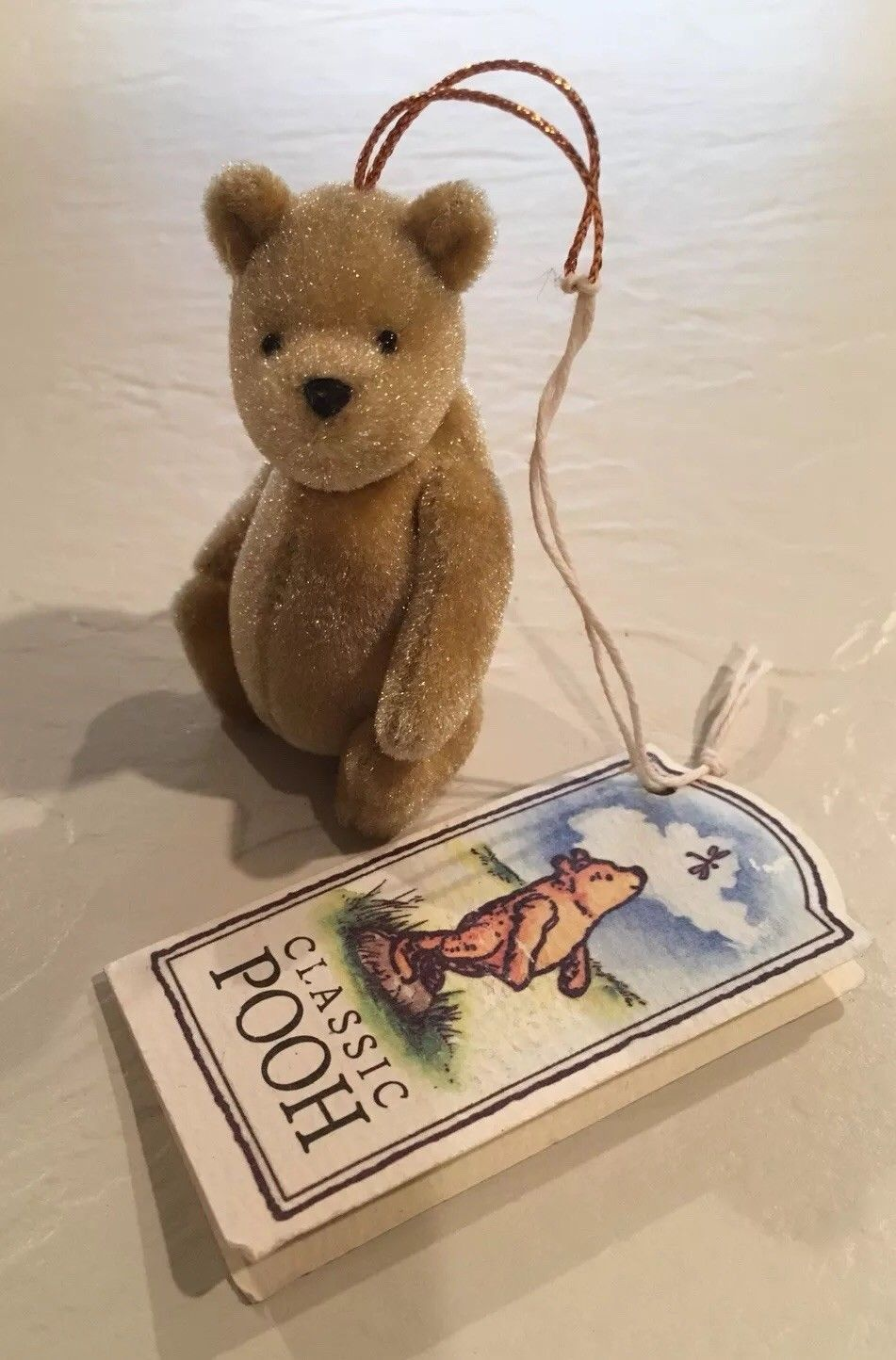 "b1127b0a685a Gund Disney Classic Winnie the Pooh • 3"" Fully Jointed Mini Plush Ornament"