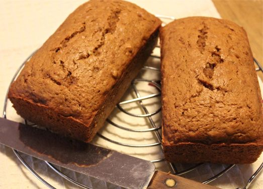 Sweet Potato Spice Breads.  These little loaves contain roast sweet potatoes and spices.  So good, and good for you.