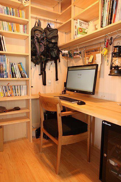 1 5畳の小さな小さな書斎 我が家の団地リノベーション11 海獣記 畳数で書くと 京間では1 5畳 団地間では1 88畳 に相当するようです 家を新築するに際して一畳や二畳の書斎を作られるお父さん方も多いようですが 我が家も例に漏れ 小さな家のインテリア 家の