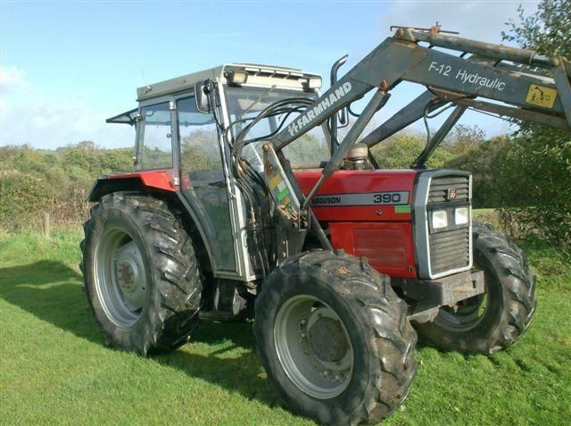 Massey Ferguson 390 Tractor at Ella Agri Tractor Sales Mid and West Wales