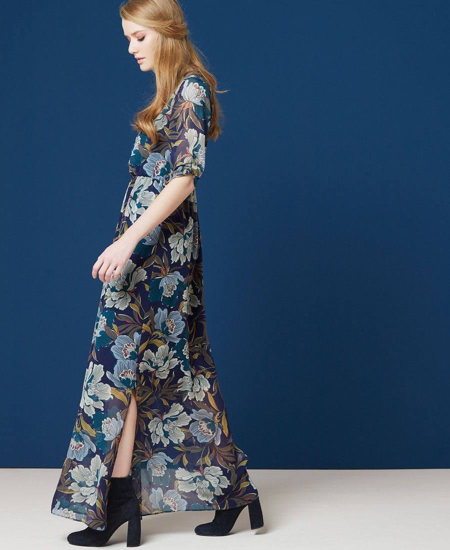 Robe Longue Maxi Floral One Step Idees Vestimentaires Maxi Floral