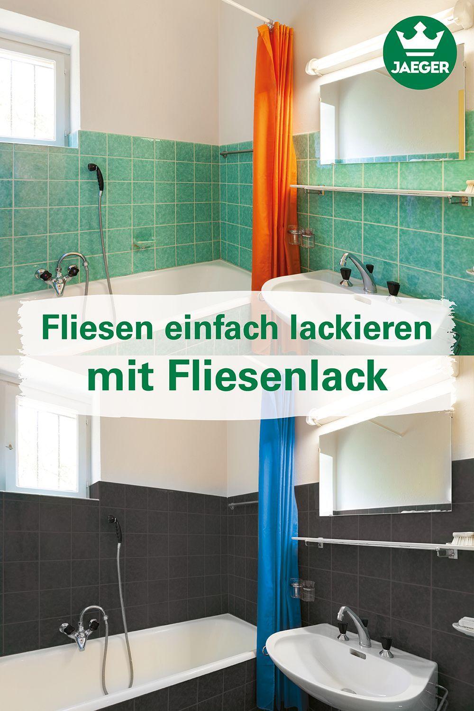 Fliesen Einfach Lackieren Fliesenstreichen Fliesenlack Badezimmer Streichen Bad Renovieren Ohne Fliesen