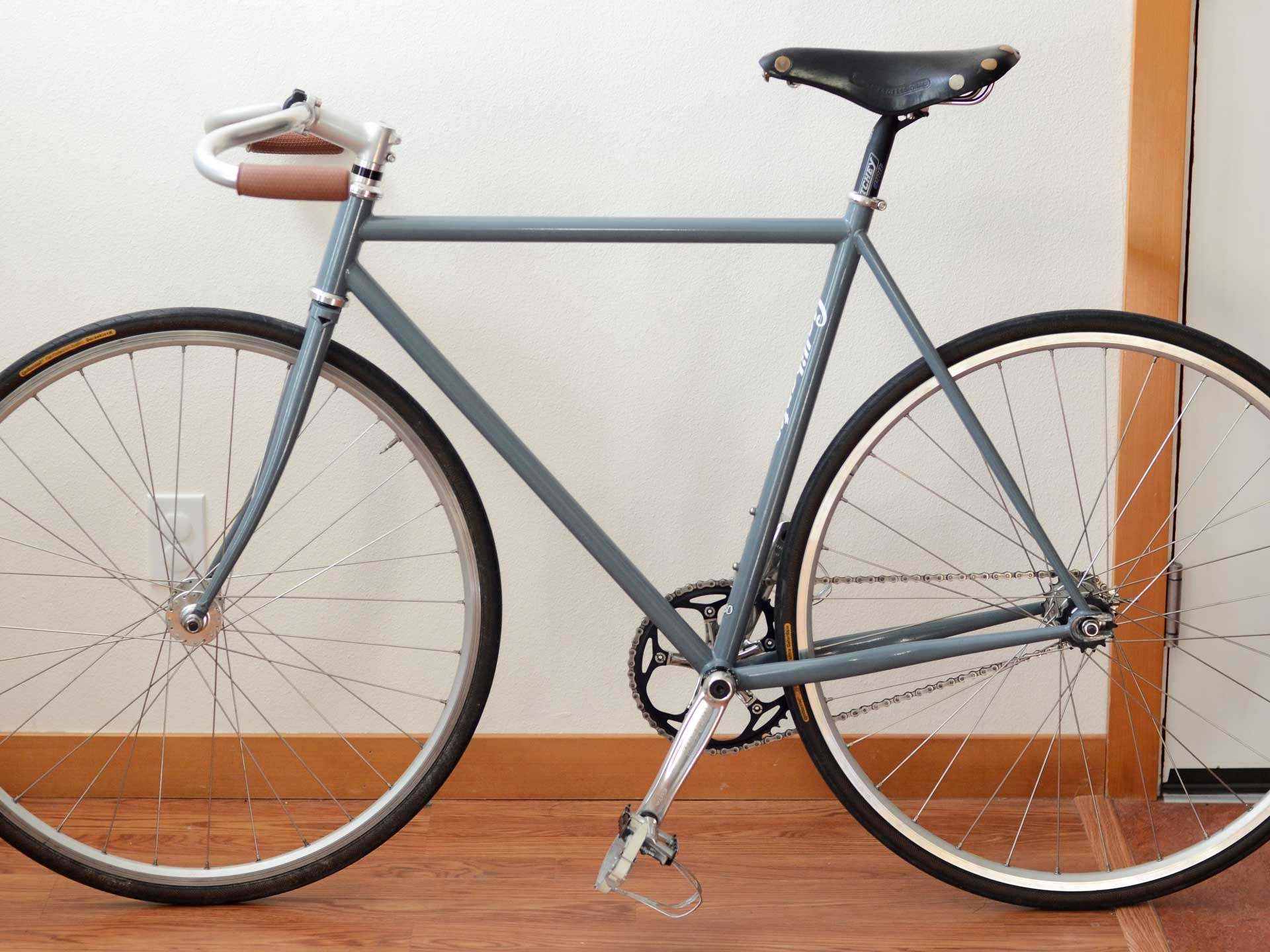 My 2004 Surly Steamroller went to a new home, along with my Brooks Professional saddle, via eBay.