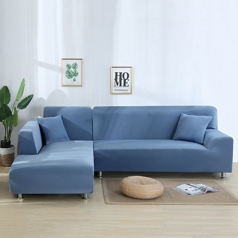 L Shape Sofa Set Cover Design In 2020 Couch Covers Furniture Sofa Set Corner Sectional Sofa