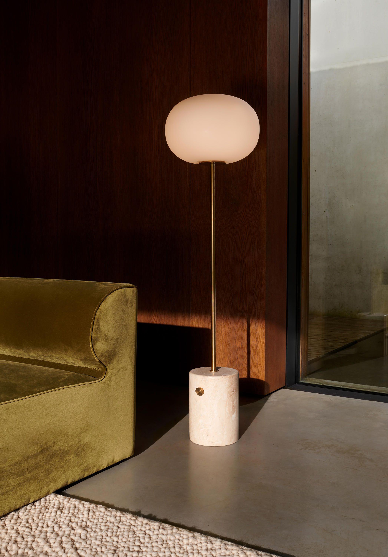 Jwda Floor Lamp White Marble Bronzed Brass Architonic Floor Lamp Jwda Lamp
