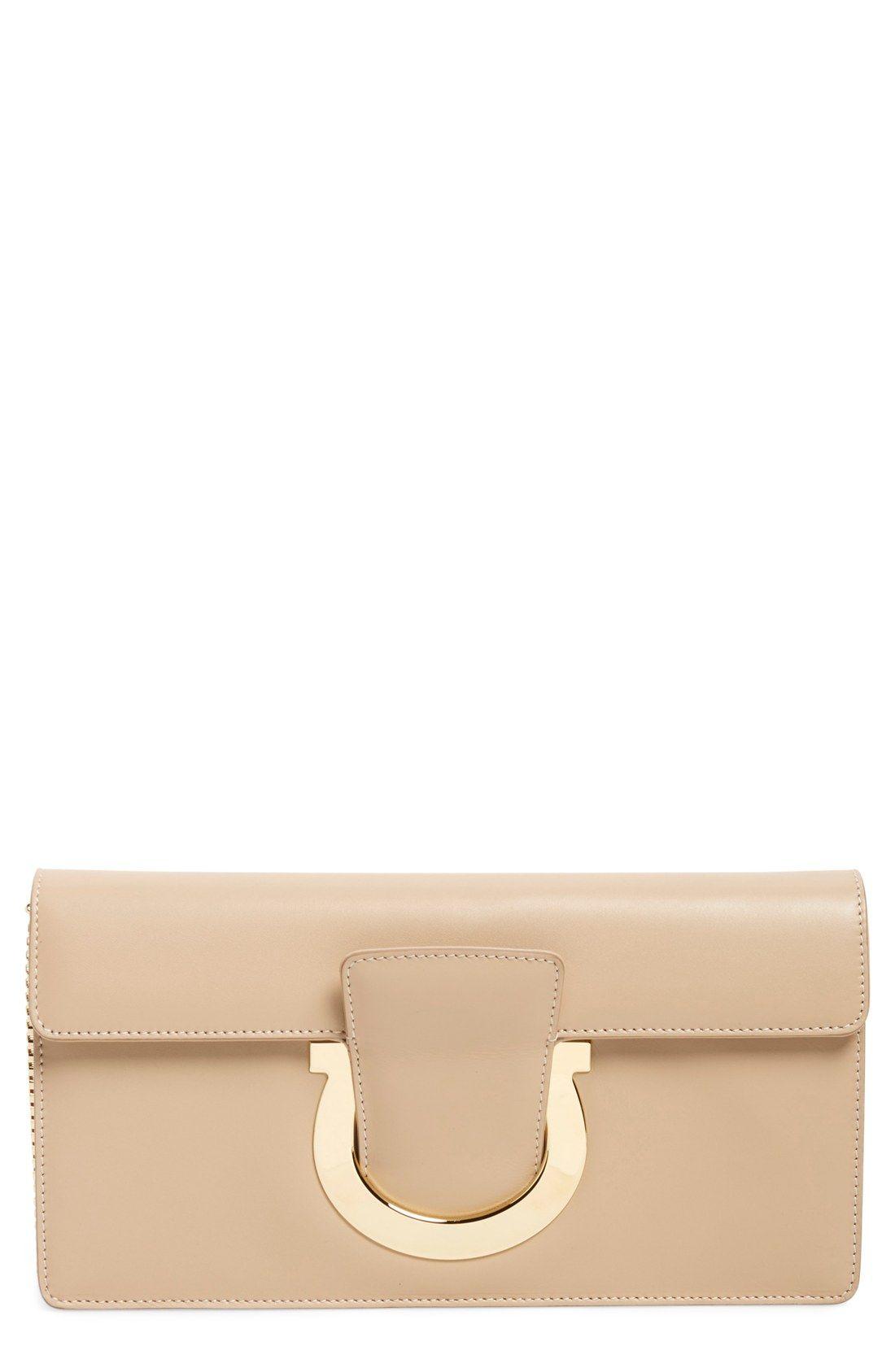 Salvatore Ferragamo 'Thalia' Leather Shoulder Bag
