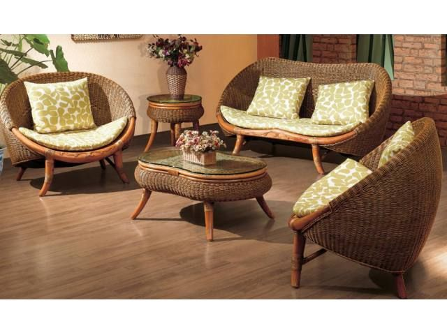 Complete Rattan Furniture Indoor