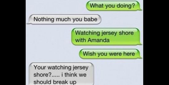 Text Break Up Quotes: Funny Break Up Text Messages