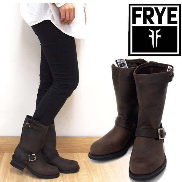 Frye Engineer 12R Boots in Gaucho