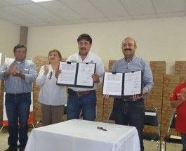 FIRMA ALCALDE CONVENIO DE COLABORACIÓN