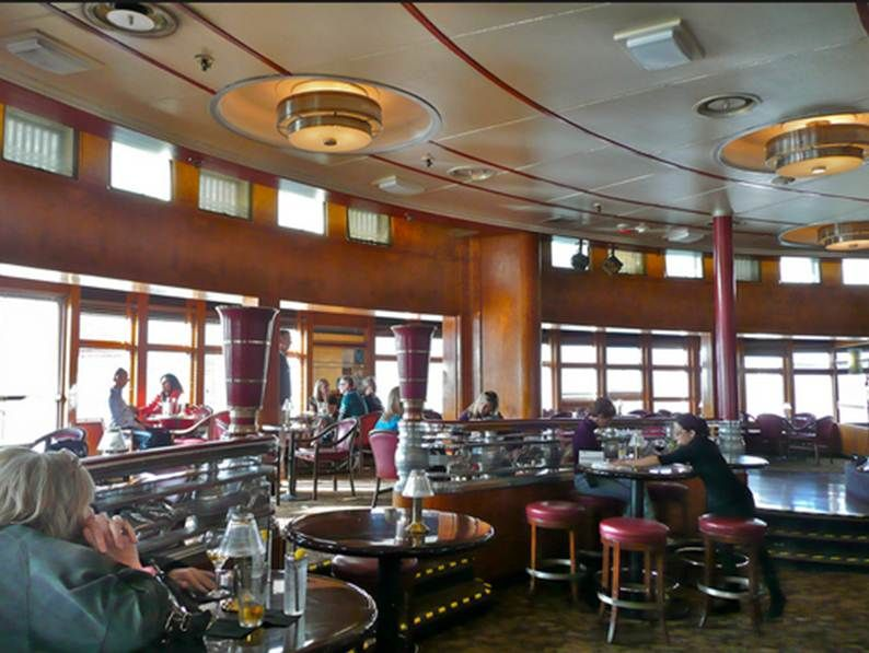 Queen Mary Bar Art Deco Lounge 1126 Queens Hwy Long Beach Ca 90802 Los Angeles County Harbor Lodging And Dining On The Retired Ocean