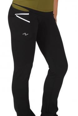 Pantalon Ajustado Recto Negro